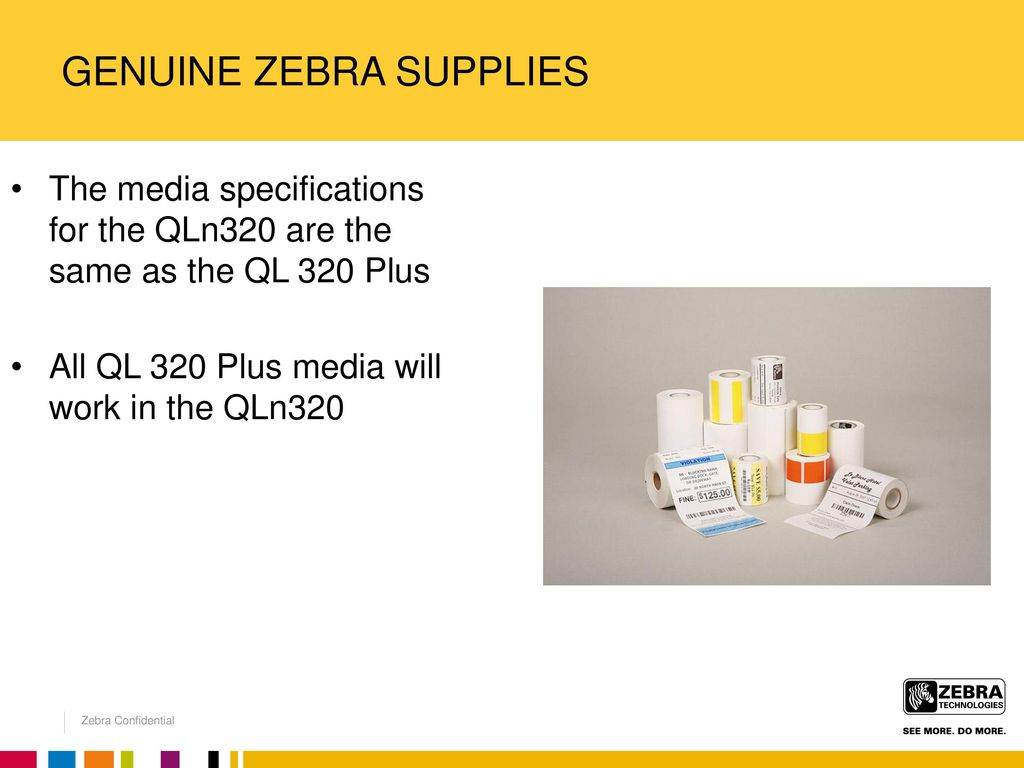 INTRODUCING THE ZEBRA QLn MOBILE LABEL PRINTER FAMILY - ppt download