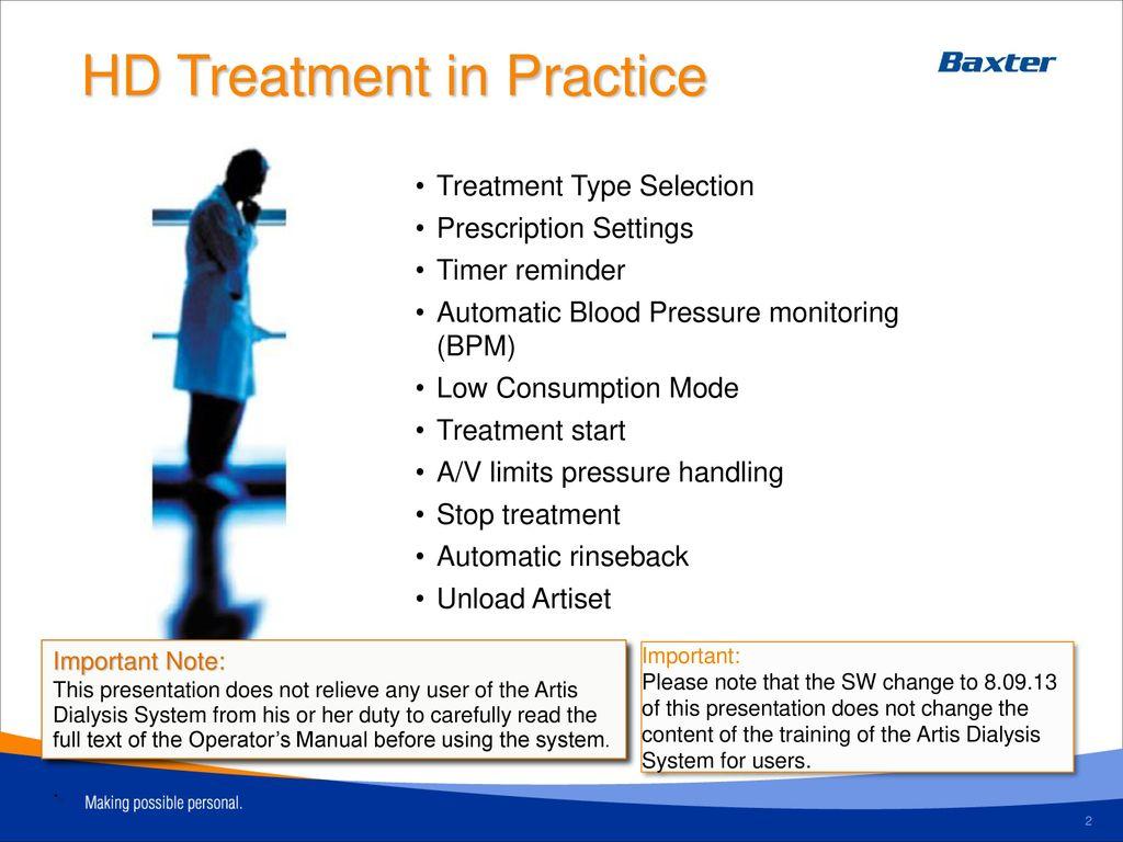 training module 2 treatment in practice ppt download rh slideplayer com dialysis training manual Dialysis Nurse Training