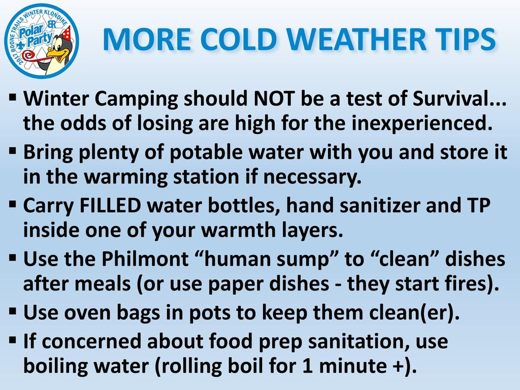 WINTER CAMPING CAN BE FUN ppt download