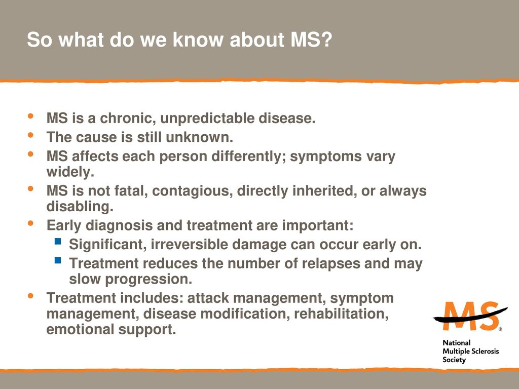 MS might not be as unpredictable as we think