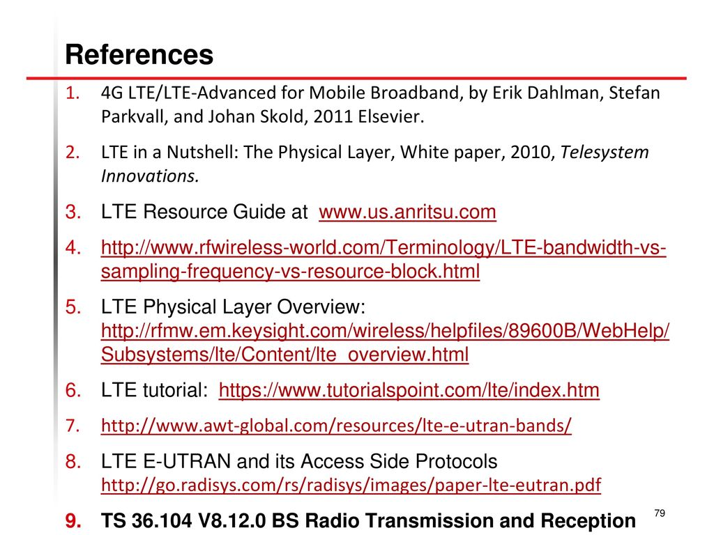 4g Lte/lte-advanced For Mobile Broadband Pdf
