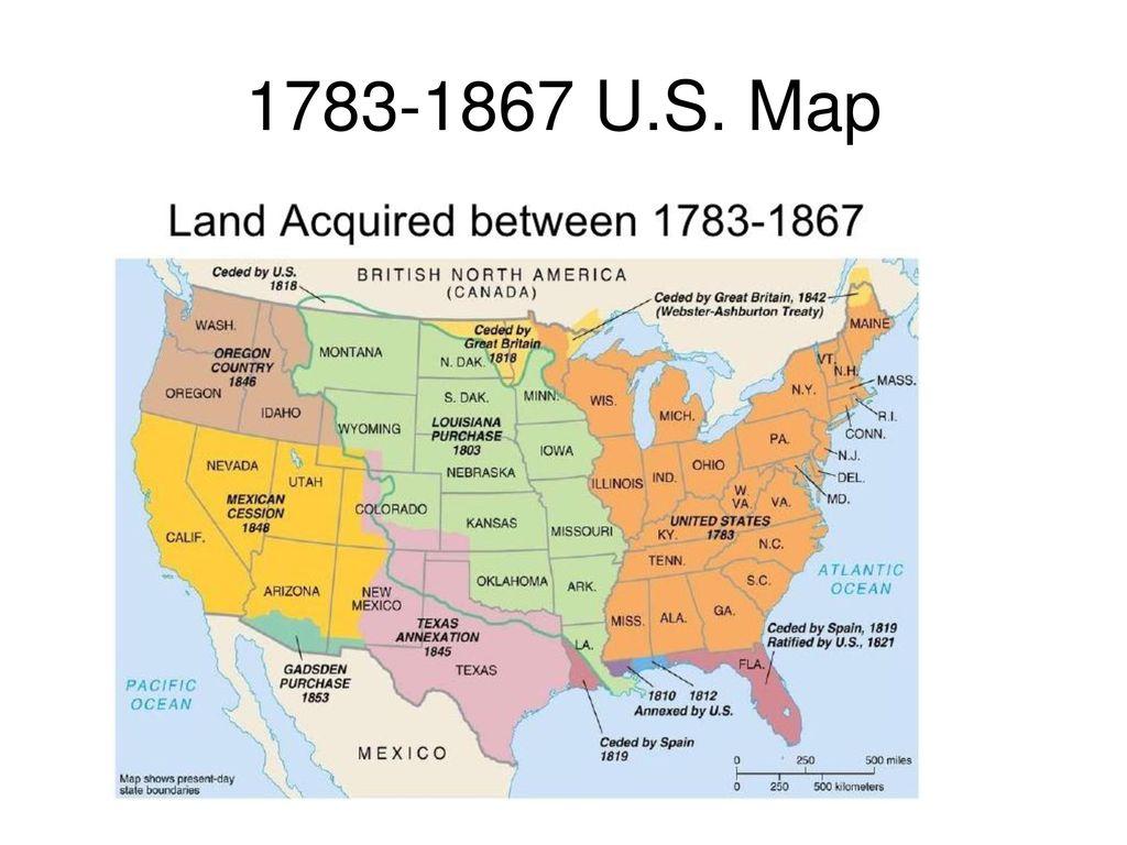 U.S. Map APUSH. - ppt download