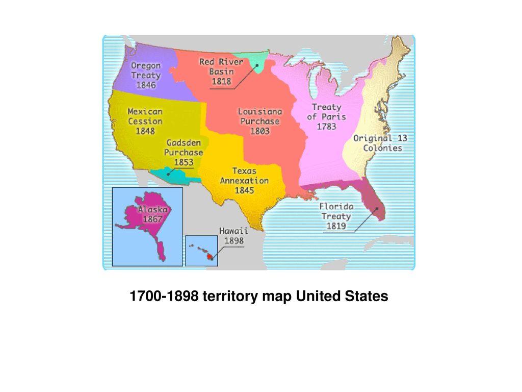 united states map 1700 U S Map Apush Ppt Download