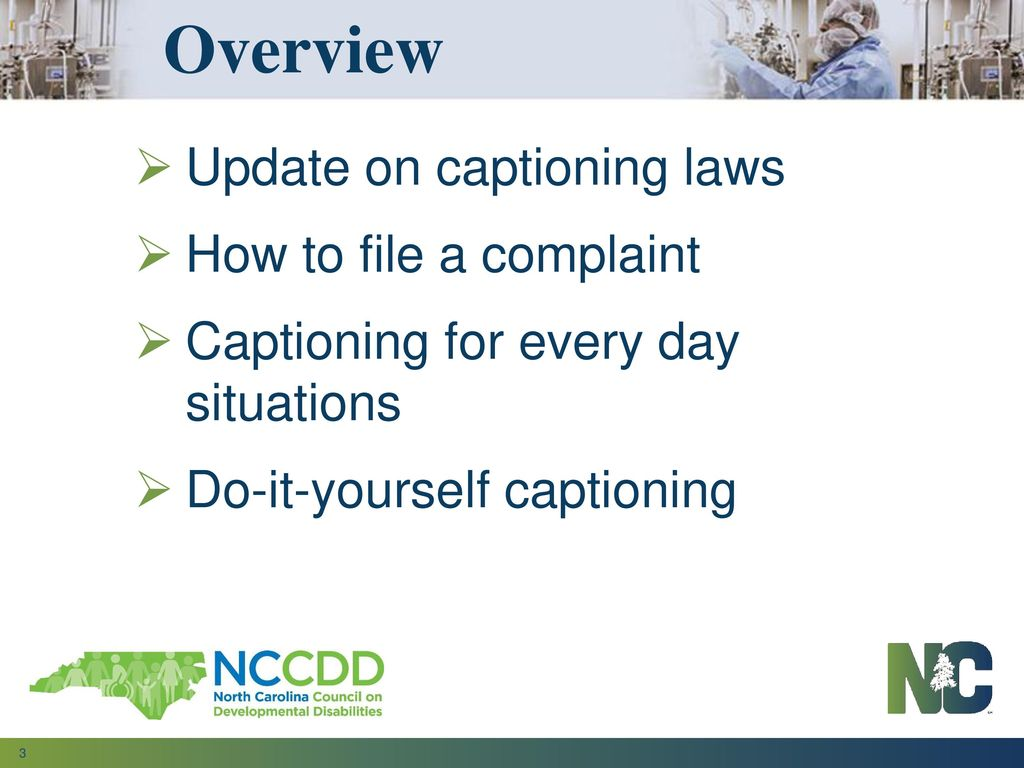 Whats new in the world of captioning great conference asheville 3 overview solutioingenieria Choice Image