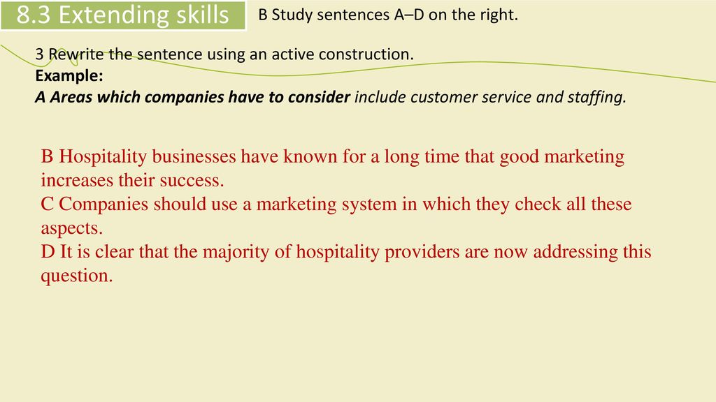 HOSPITALITY MARKETING - ppt download
