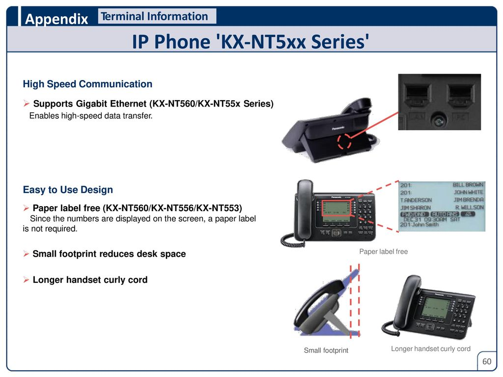 Panasonic Smart Hybrid Pbx Kx Ns300 Sales Guide Ppt Download Telephone Circuit Hands Over Tech 44 Enables