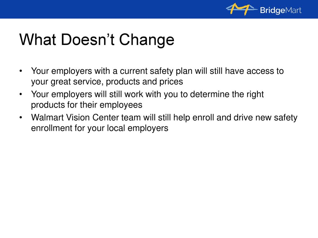 Who Is BridgeMart MISSION: To simplify & expedite Safety