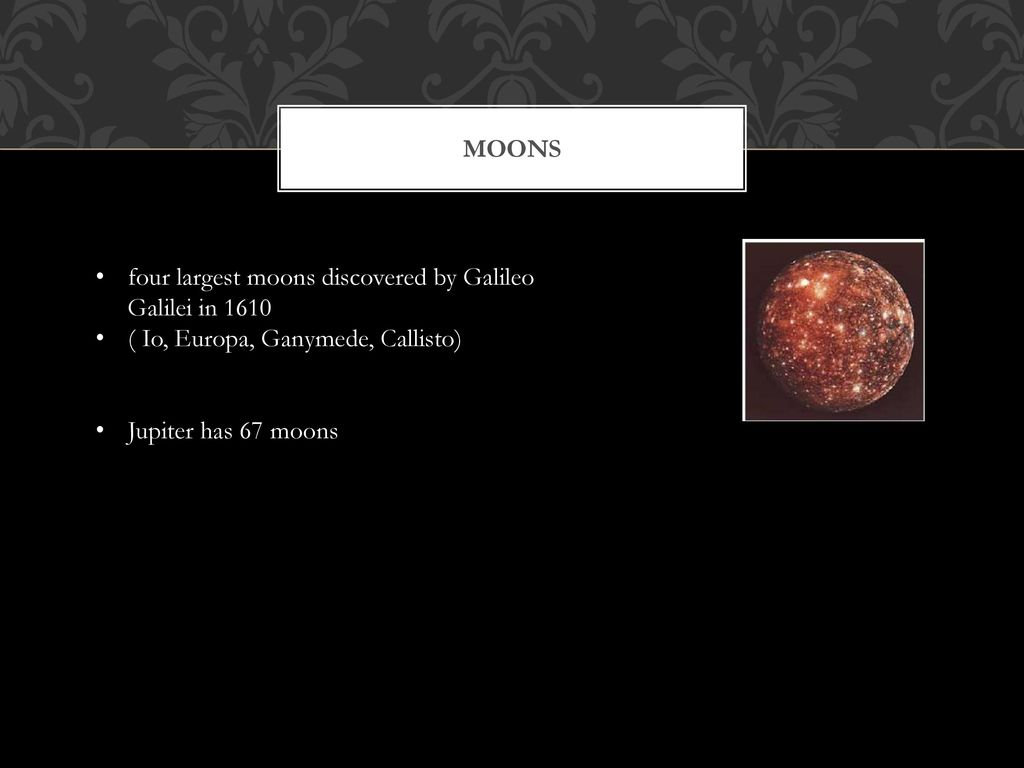 four moons galileo discovered - HD 1024×768
