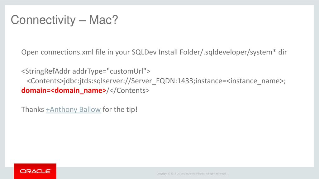 Oracle Tools for SQL Server? - ppt download