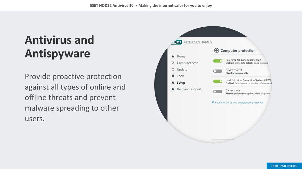 eset nod32 offline online update download