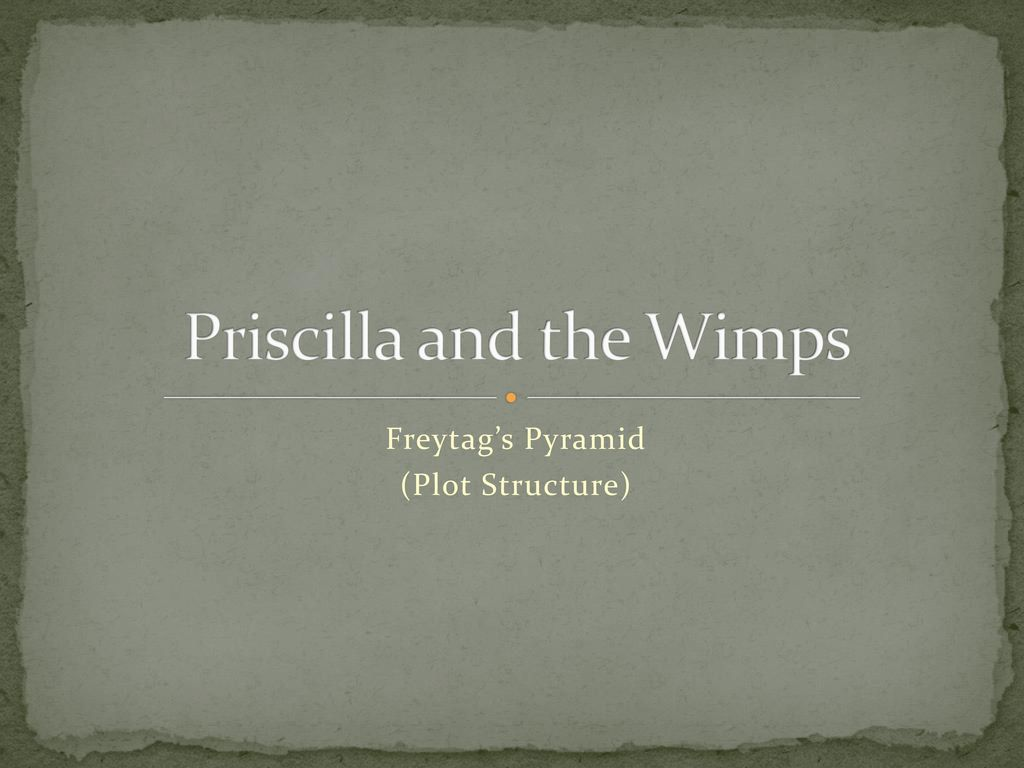 priscilla and the wimps summary
