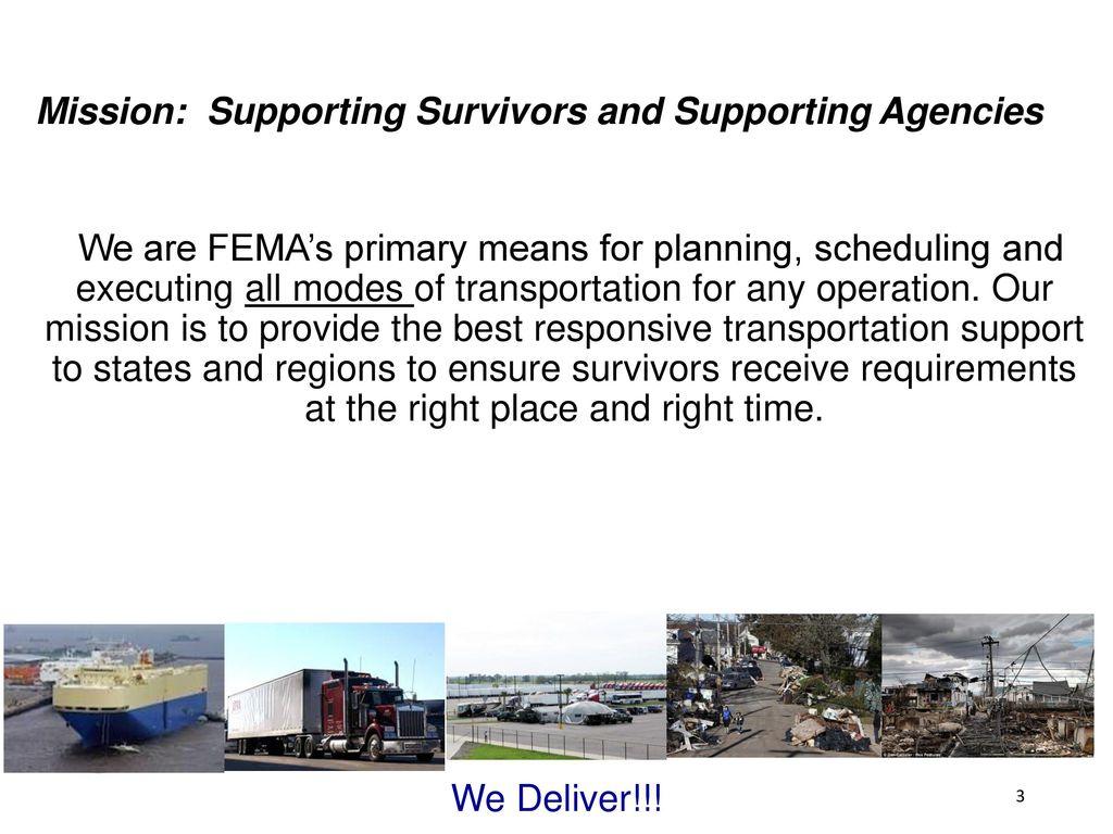 FEMA Logistics and Movement Control - ppt download