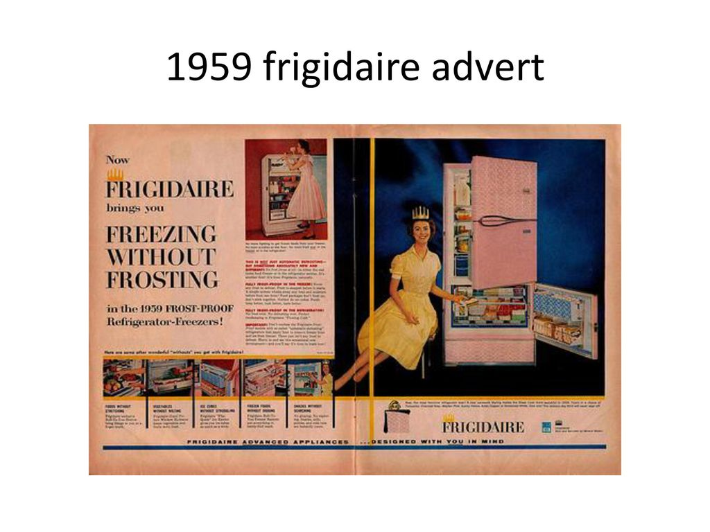 Useful Vtg Frigidaire Advertising 1927 Possessing Chinese Flavors 1930-39 Advertising