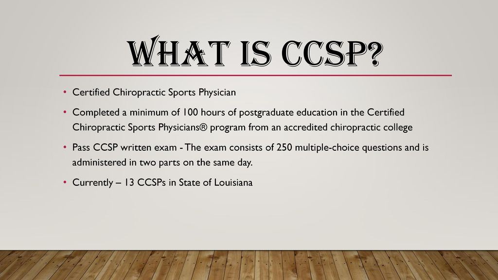 Chiropractic in Sports - ppt download