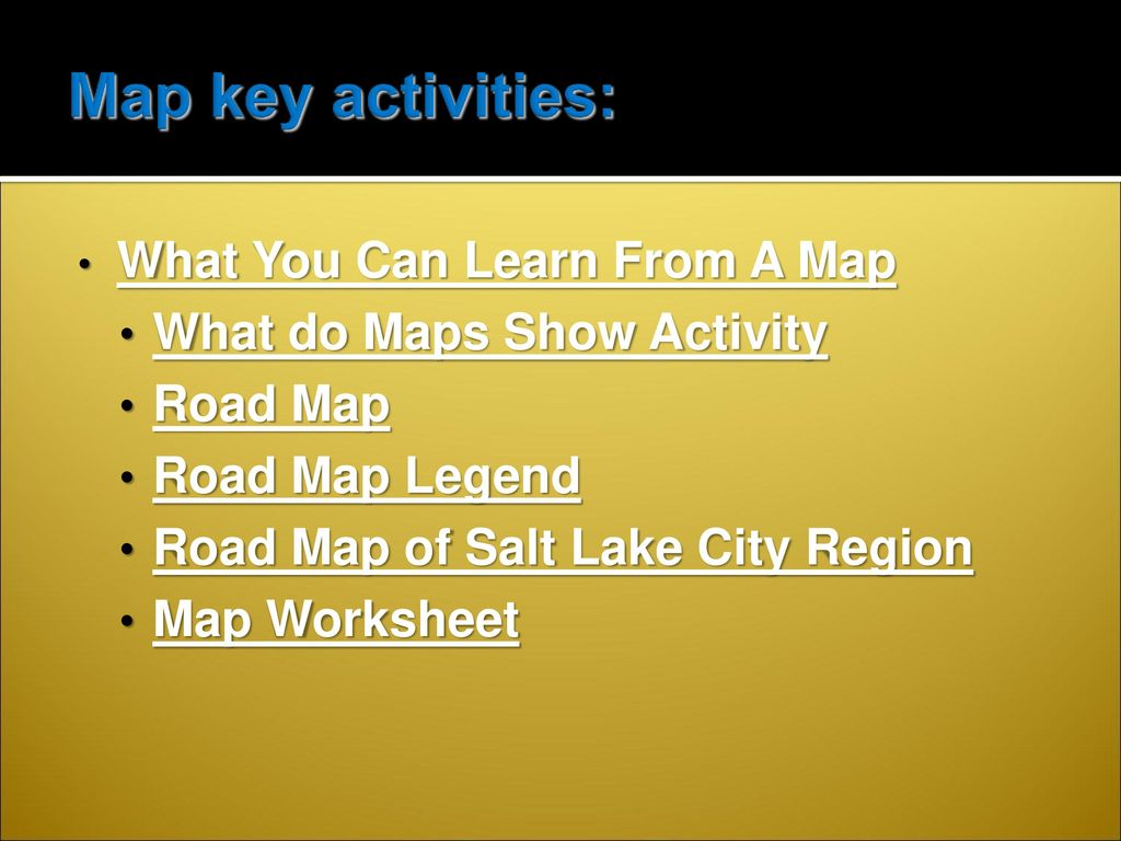 Map Skills Training Course - ppt download
