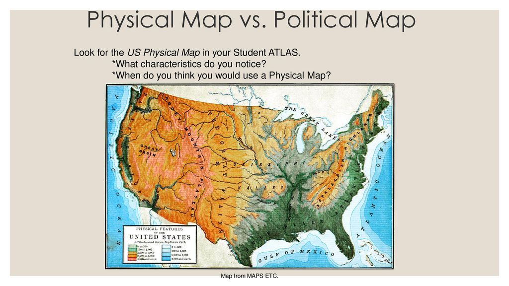 6 Physical Map Vs.