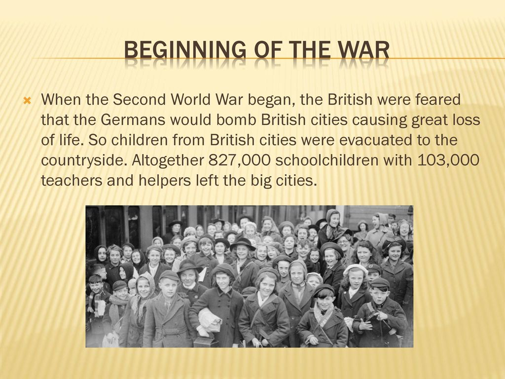 The beginning of the Second World War: the reasons. Start date of WWII 85