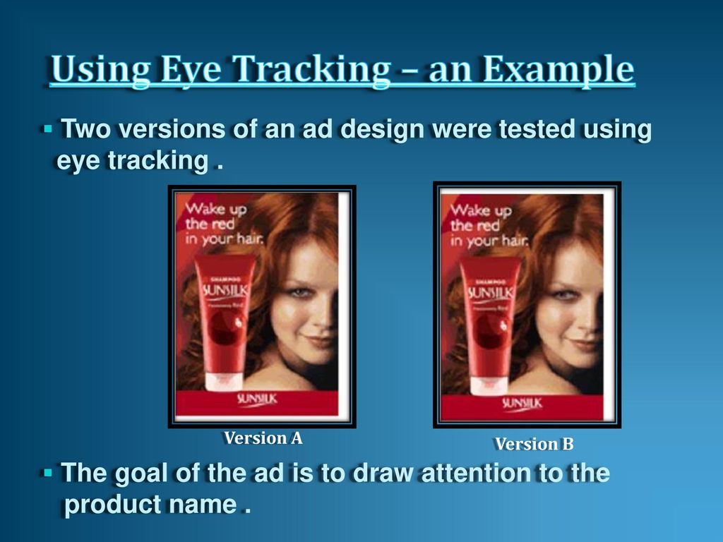 EYE TRACKING TECHNOLOGY - ppt download