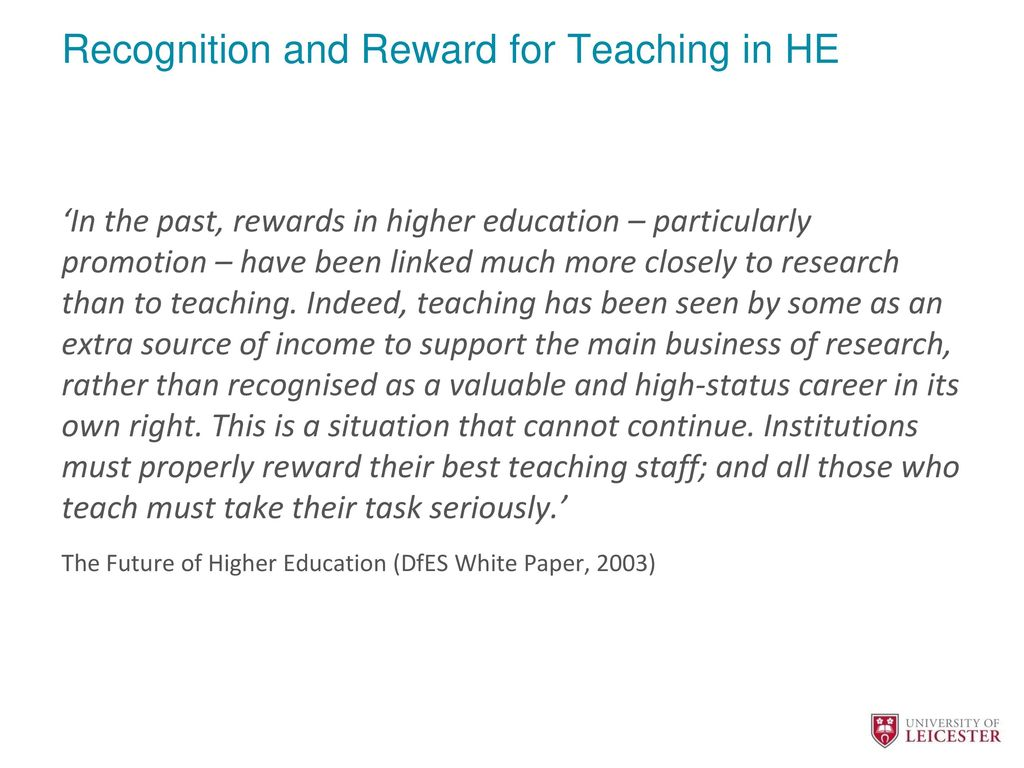 what are the rewards of teaching