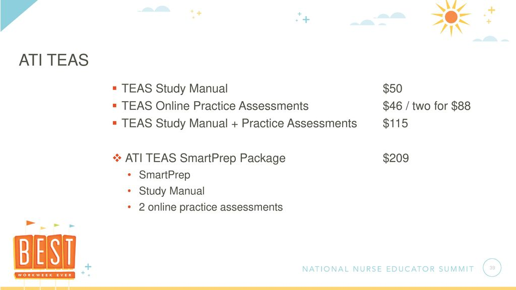 ATI TEAS Admissions Offerings - ppt download