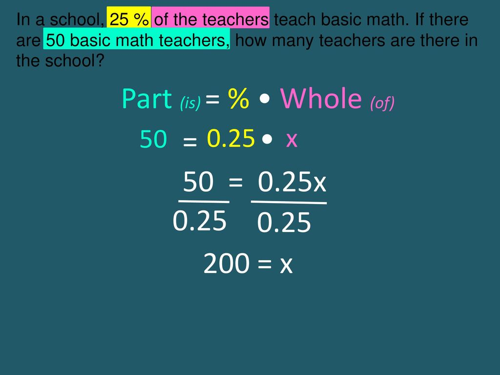 Percent Word Problems. - ppt download