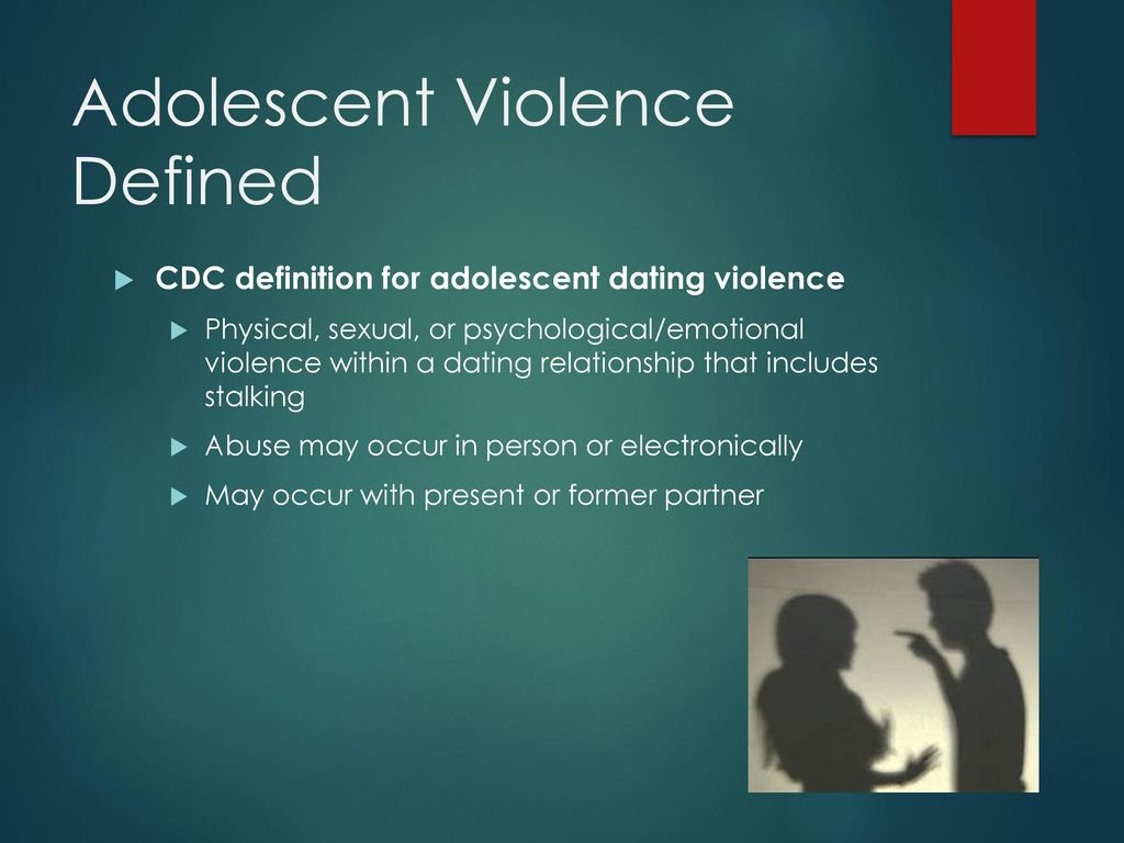 Adolescent dating relationships definition