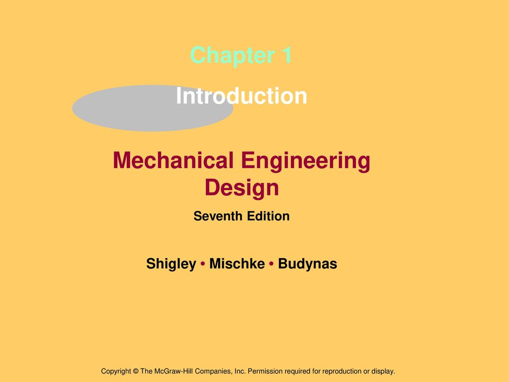 Mechanical Engineering Design Shigley Mischke Budynas Ppt Download