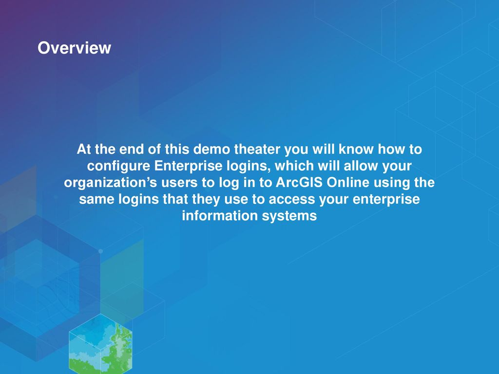 Using Your Own Authentication System with ArcGIS Online - ppt download