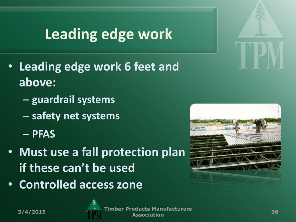 Fall Protection for Construction - ppt download