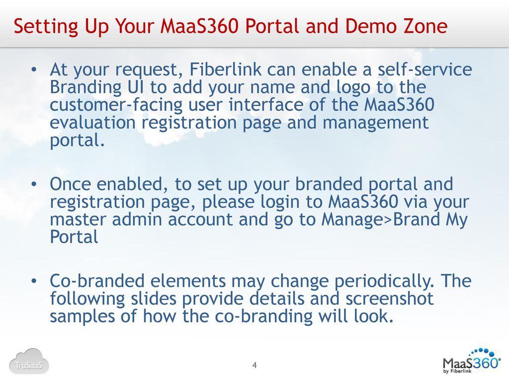 Partners – MaaS360 Portal Management - ppt download