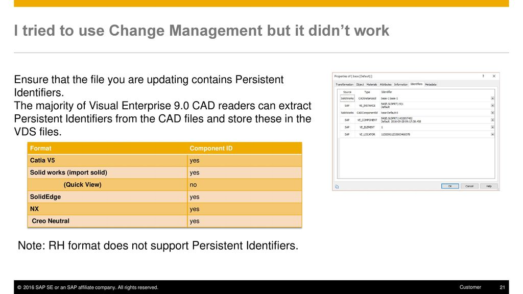 SAP 3D Visual Enterprise Author 9 Frequently Asked Questions - ppt