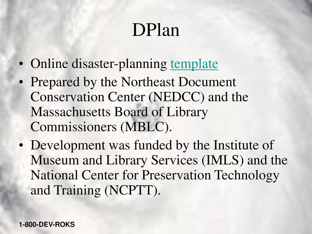 Library Disaster Plan Template The Best Library 2018