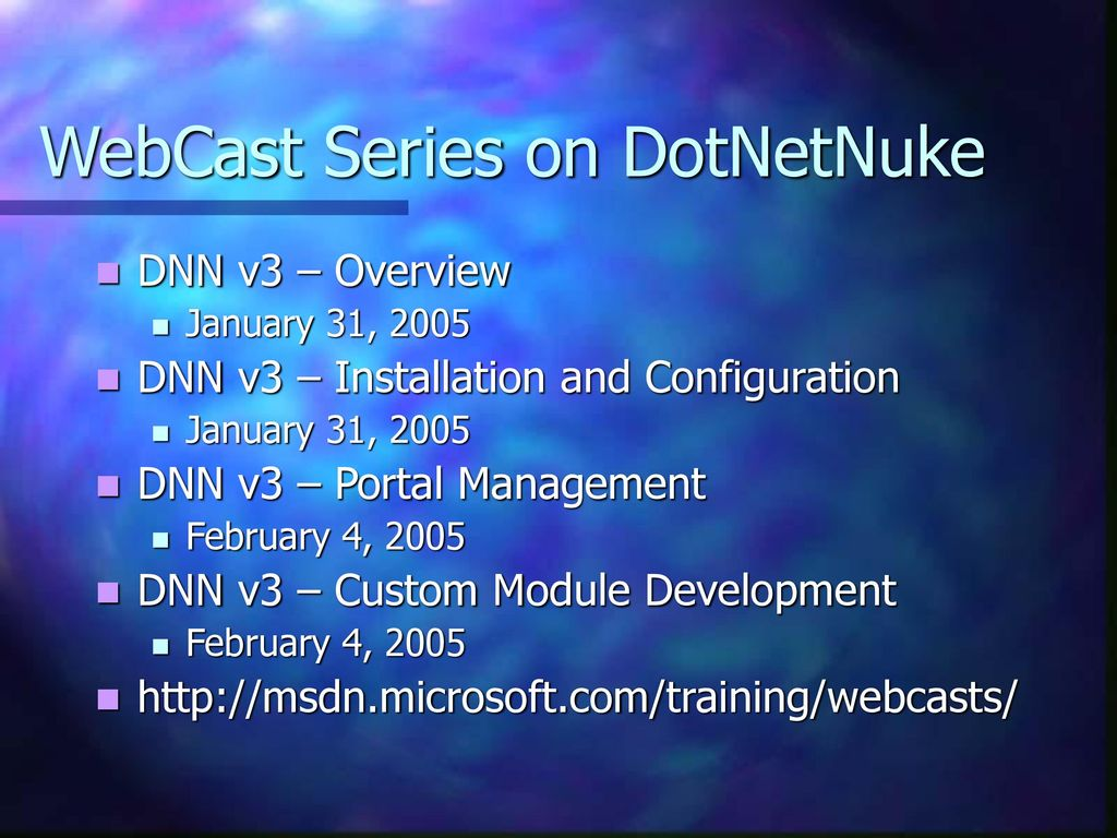 DotNetNuke Portal – Custom Module Development - ppt download