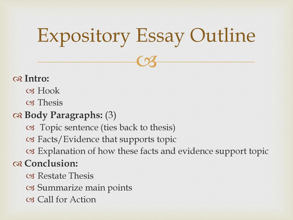 The Importance Of Learning English Essay Expository Essay Outline Essay In English Language also Best Business School Essays Diagnostic Expository Essay Prompt  Ppt Download Thesis Statement For Friendship Essay