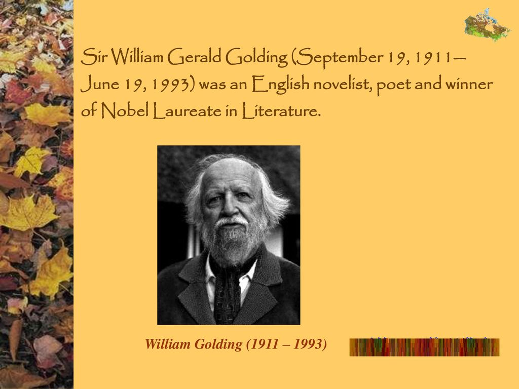 sir william golding