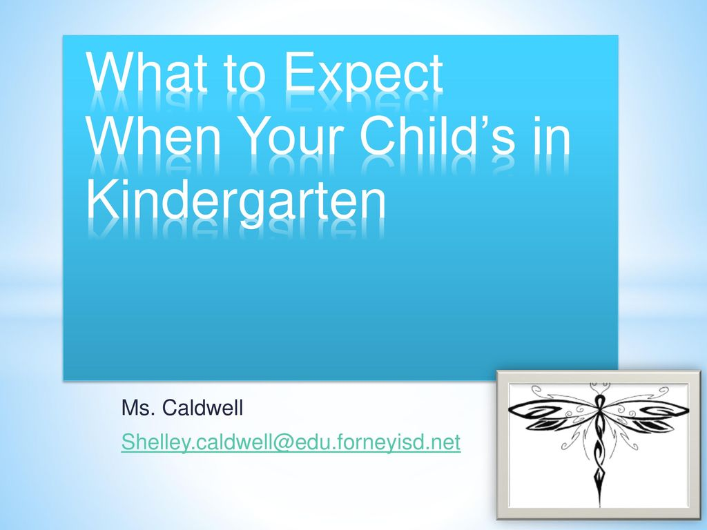 What to Expect When Your Child\'s in Kindergarten - ppt download