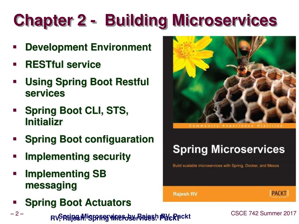 Lec17 Microservices with Spring Boot - ppt download