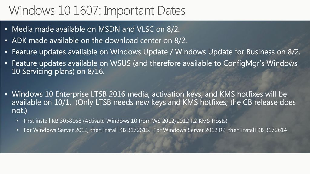 Enhance Windows 10 deployment: What's new with Windows 10