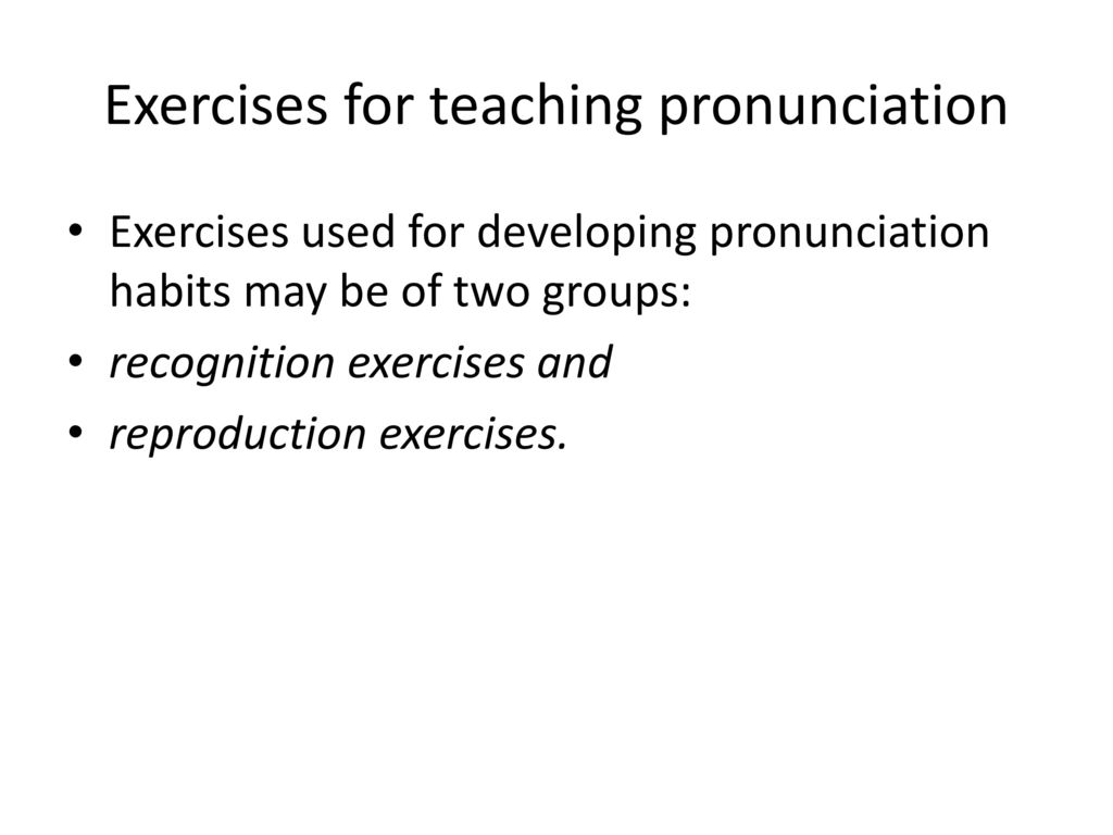 Teaching pronunciation - ppt download