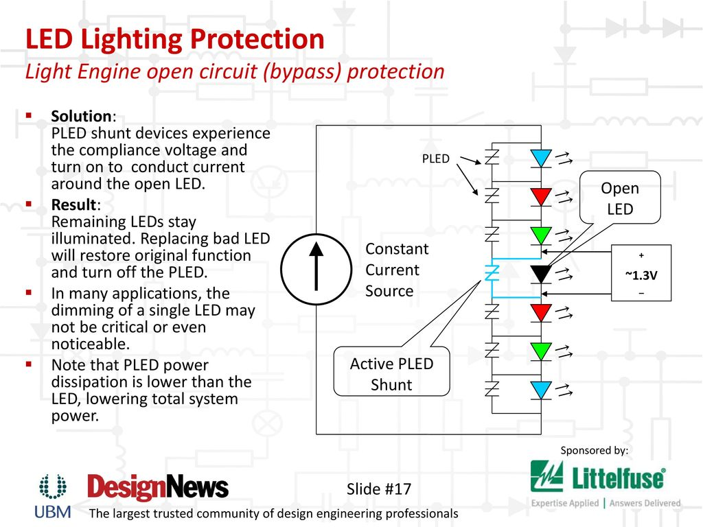 Keeping The Lights On Safeguard Led Lighting Ppt Download Constant Current Source Circuit 17 Protection