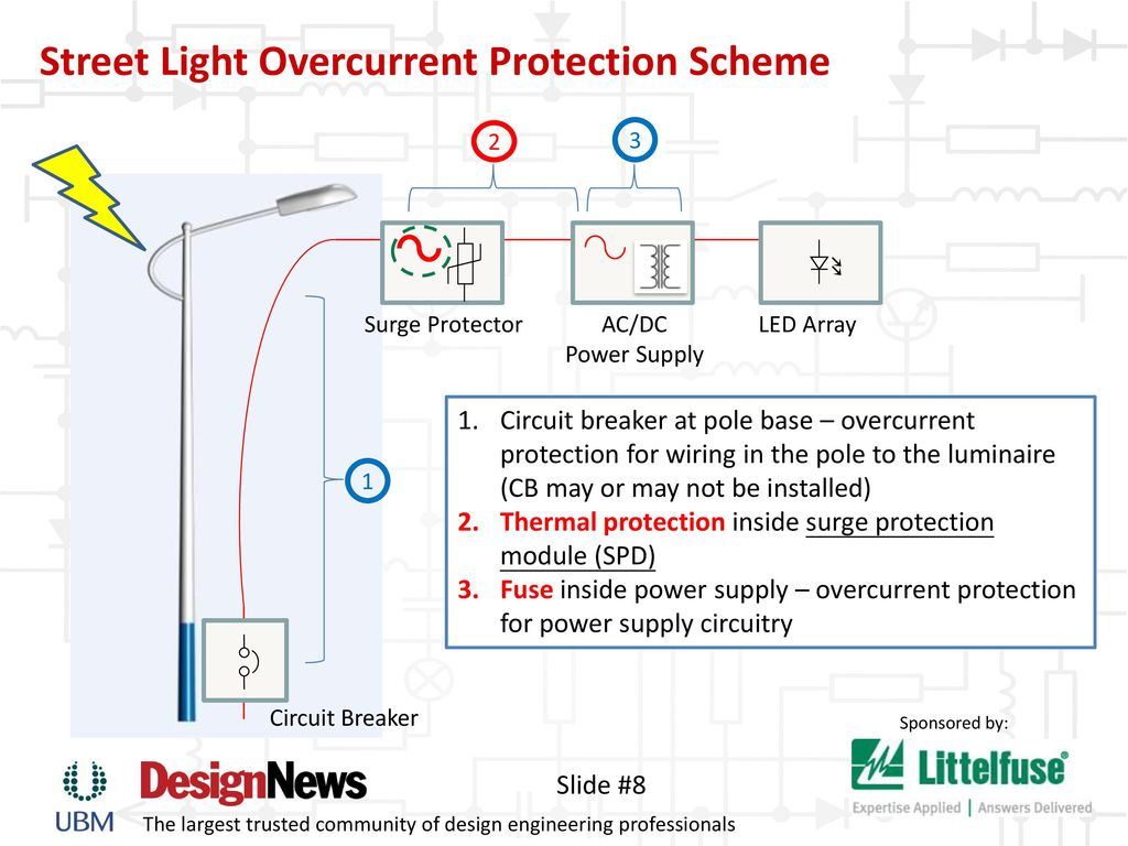 Keeping The Lights On Safeguard Led Lighting Ppt Download Surge Protection Device Wiring Diagram Street Light Overcurrent Scheme