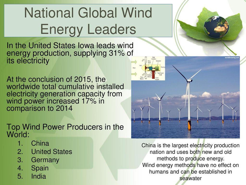 Alternative Energy Sources - ppt download