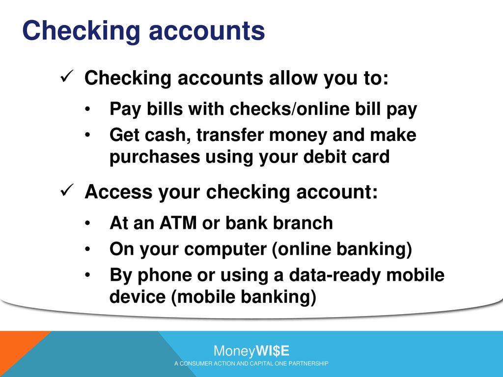 BASIC BANKING. - ppt download