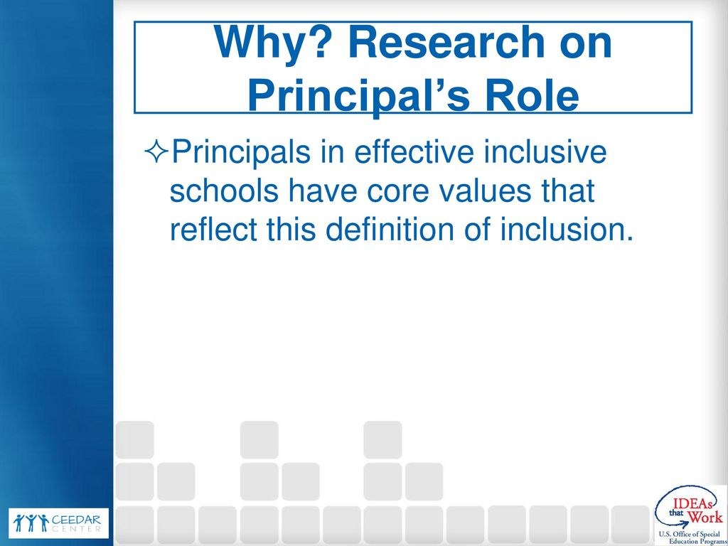 Competencies and standards for Principal Preparation - ppt download