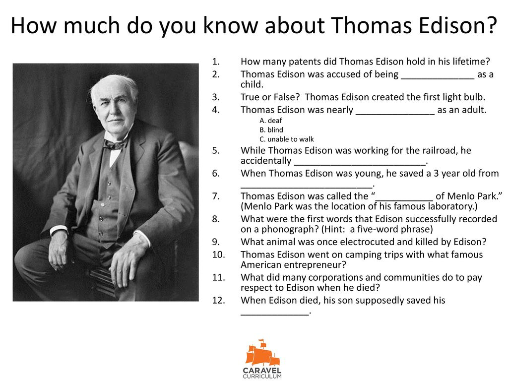 a biography of thomas alva edison an american experts on electricity Thomas edison (1847 - 1931) was an american inventor and businessman who developed and made commercially available - many key inventions of modern life his edison electric company was a pioneering company for delivering dc electricity directly into people's homes he filed over 1,000.