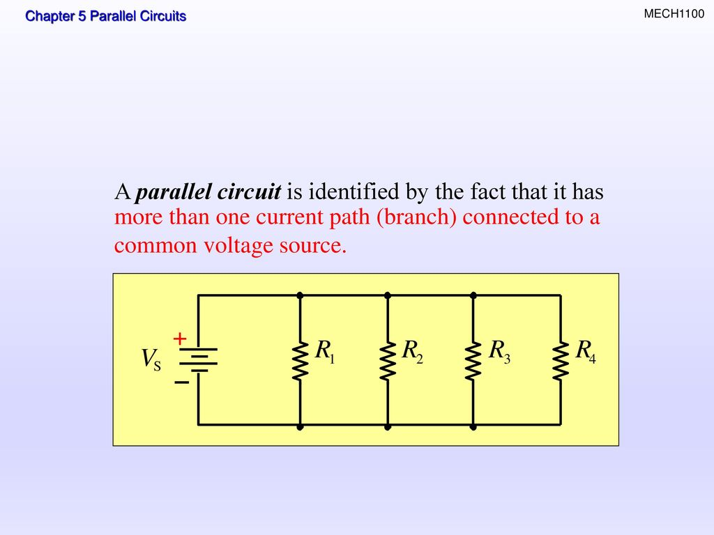 Topics Resistors In Parallel Total Resistance Ppt Download Circuit A Is Identified By The Fact That It Has