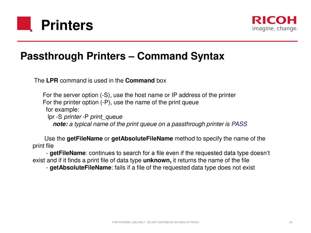 Ricoh TotalFlow Print Manager version ppt download