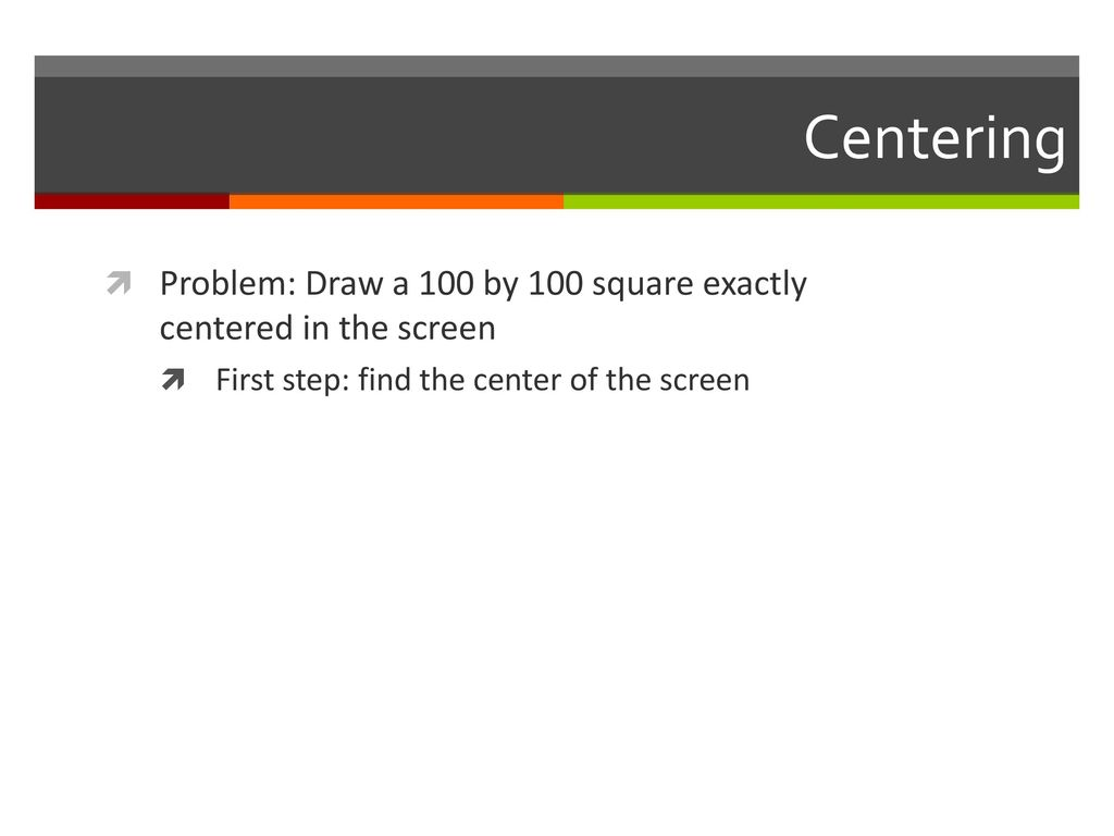 Drawing functions Screen('DrawLine', windowPtr [,color