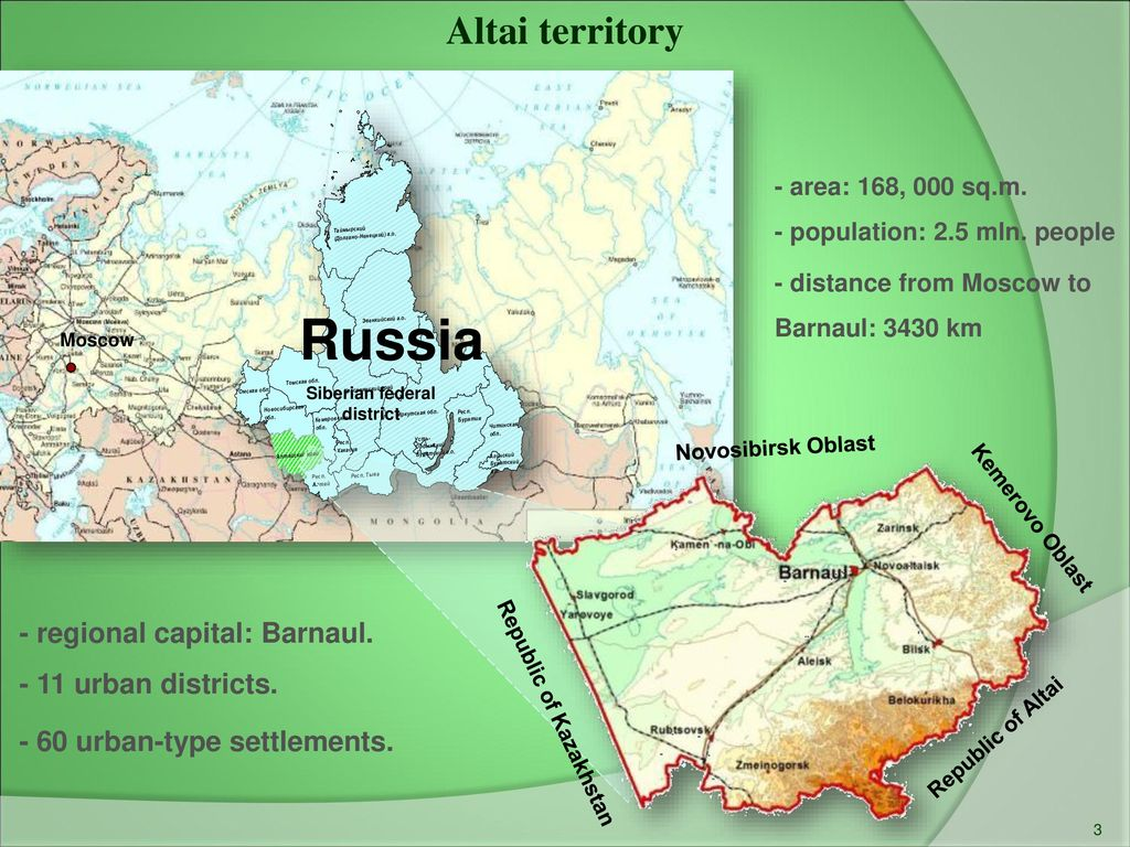 How to overcome the distance from Barnaul to Moscow