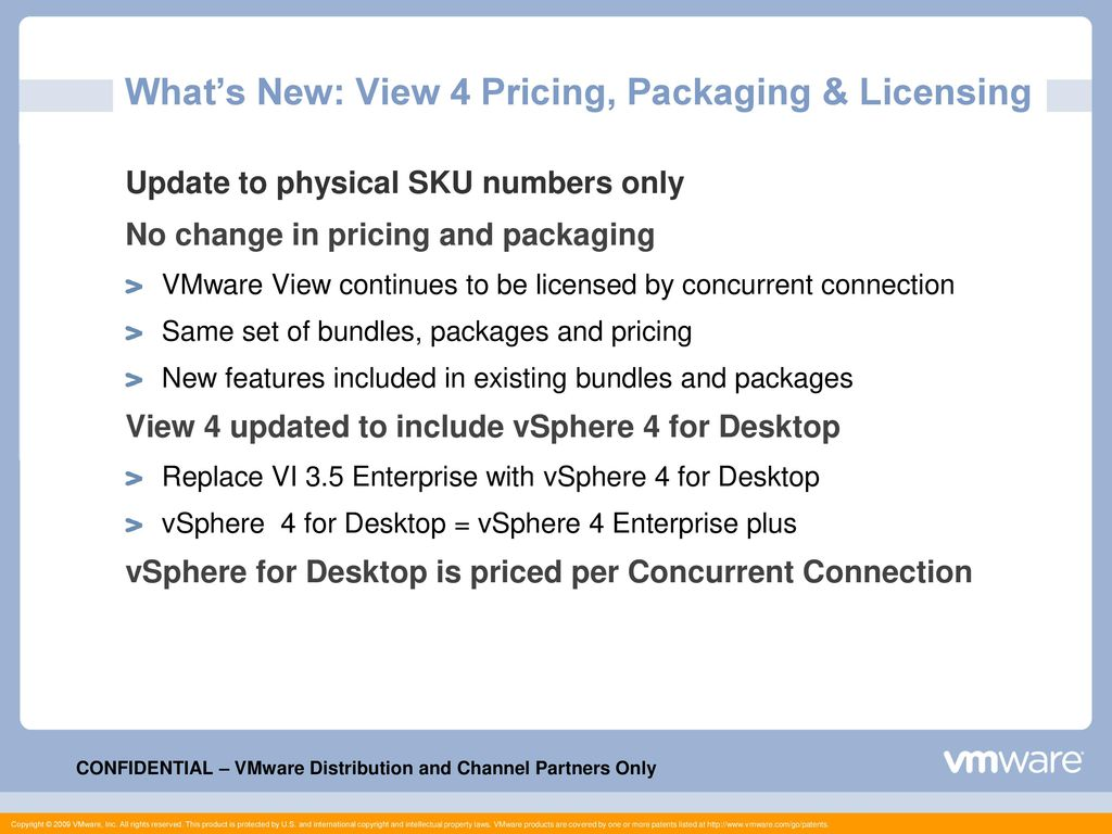 VMware View 4 – Partner Overview 1 Hour overview - ppt download